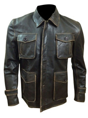 Supernatural Jensen Ackles (Dean Winchester) Brown Distressed Jacket