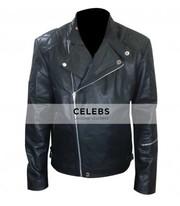 Metal Gear Solid 5 Snake Biker Leather Jacket