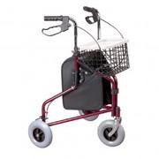Three Wheeled Rollator