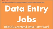Urgent requered data entry operator,