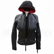 leather and textile jackets