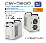 S&A chiller for cnc router and co2 laser machines