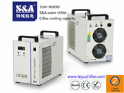 S&A chiller for water cooled electro spindles of small milling machine