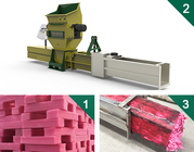 Styrofoam or epe compactors of GREENMAX ZEUS SERIES