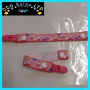 HANDMADE PEPPA PIG NEWBORN AND TODDLER DUMMY CLIP