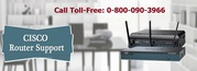 Cisco Router Technical Support @0-800-090-3966 for Wireless Router