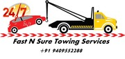 Towing car repair service 24*7 by FastnSure