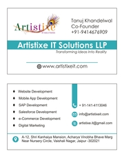 Artistixe it On Demand App Solution