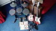 Playstation 3 Drum kit,  Guitars,  Games and accessories. £80ONO