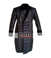 Once Upon A Time Captain Hook Leather Coat