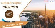 Book cheapest flights London to Toronto and cheap flights from London