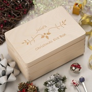 Christmas Eve Box: Save Precious Memories with a Sturdy Woodenbox