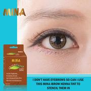 MINA Ibrow Henna Starter Kit For Eyebrows