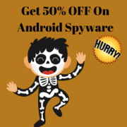 Halloween Discount at BlurSPY Phone Spy App